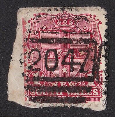NEW SOUTH WALES Postmark: Numeral 2047 of Torbane Mine (RRR)