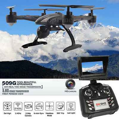 JXD 509G 2.4GHz 6-Axis 5.8G FPV RC Quadcopter High Hold Mode w/ 2.0MP Camera #3