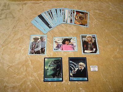 Collection Of 45 Dr Who Cards By Strictly Ink Ltd 2000/01 Doctor Who Sci-Fi Cool