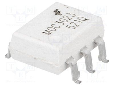 1000 pcs Optotriac; 5kV; Uout:400V; without zero voltage crossing driver