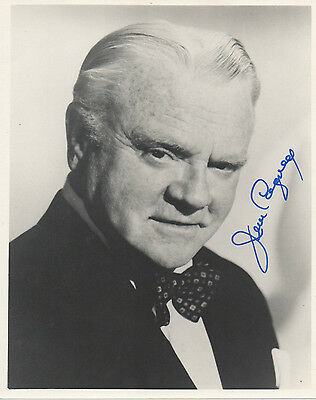 James Cagney 8x10 hand signed photo