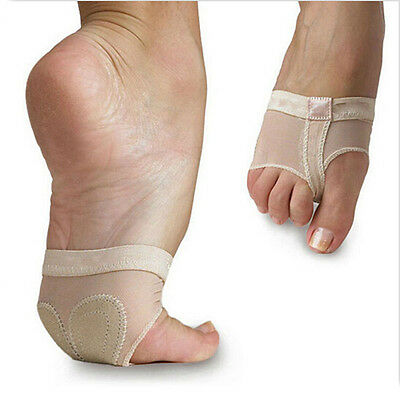 Ballet Dance Toe Pad Foot/Feet thong Protection Show Stage Dance Socks 2 holes