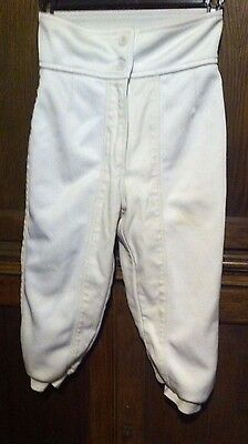 Leon Paul fencing breeches 350n size 30 = approx 10