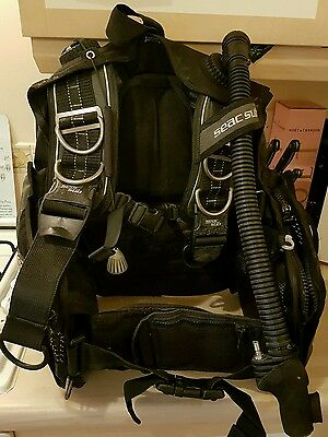 seac sub scuba diving BCD size small