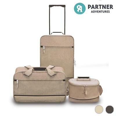 Set di Valigie Partner Adventures (3 pezzi) Sahara