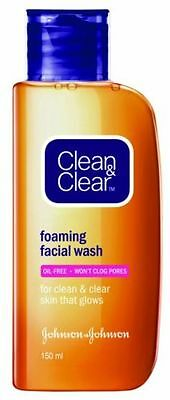 Clean & Clear Essentials Foaming Facial Wash Clean Skin Carefully 50ml