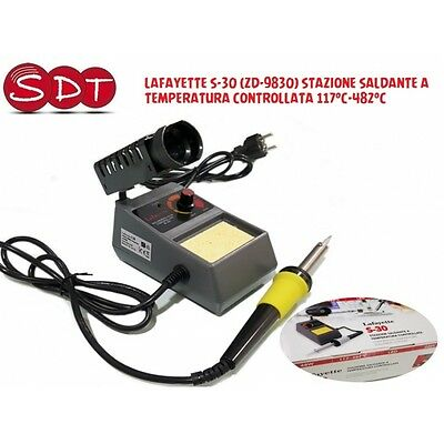 Lafayette S-30 (Zd-9830) Soldering Station A Temperature Controlled 117°C-482° C