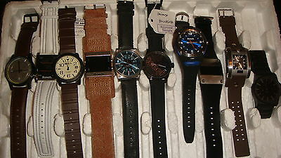 Trade Only Job Lot Of 10 New X  Mixed Bench Watches 100% Gen..