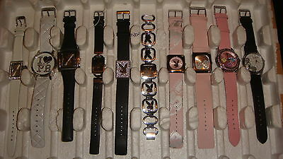 Trade Only Job Lot Of 10 New X  Mixed Playboy Watches 100% Gen..