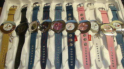 Trade Only Job Lot Of 10 New  X  Mixed Fiorucci Watches 100% Gen..