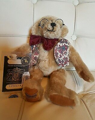 Vintage Merrythought Bear, Made In England, Limited Edition....l@@k!!!