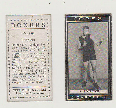 BOXERS....COPE....1915...F.STORBECK  No.41