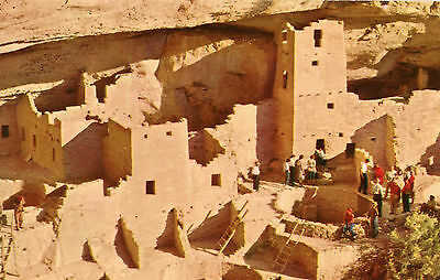 Mesa Verde National Park Cliff Palace Ruin Unused Postcard