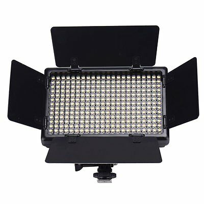 10W LED308 Portable Mini Size Bi Colour Video Light Panel LED for DSLR Camera