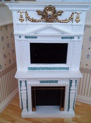 1/12th Scale Queen Mary Cypher Fireplace, by The Doll's House Emporium