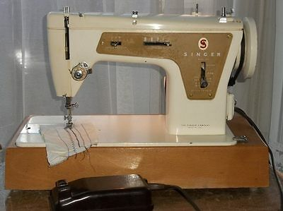 Singer 237 Portable Electric Zig-Zag & Straight Stitch Embroidery Sewing Machine