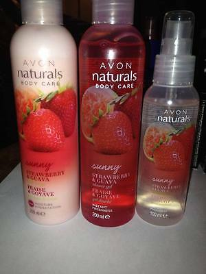 avon naturals body care and room sent spray