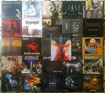 Excellent lot of 26 CDs digipack metal (As new and sealed).