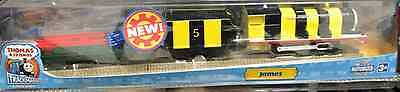 Hit Thomas & Friends Trackmaster Motorized James Busy As a Bee Rare