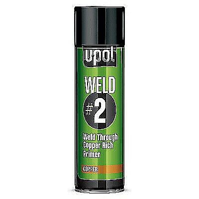 Upol Weld #2 Through Copper Rich Primer Metal Corrosion Protection Car 2K Paint
