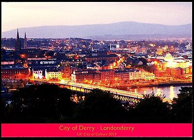 New Postcard Aerial View City Of Londonderry City Of Culture 2013 J Hinde 2Ni395