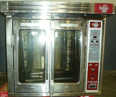 Baker's Aid BAMR-1/s-208/3 Ultra Air Mini Oven w/Stainless Steel Stand