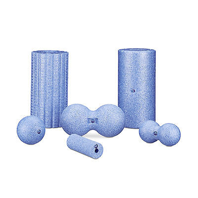 Massage Roller Set of 6 Connective Tissue Roller Massage Ball Double Ball Yoga