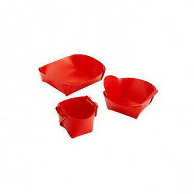 Folding Dining Set - Red - L34FDS