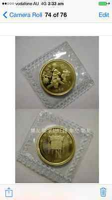 1997 china welcome  spring 1/10 gold coin