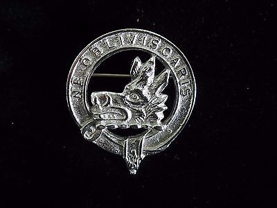 Scotch Clan Pin Campbell Ne Oblivis Caris  (Do Not Forget)
