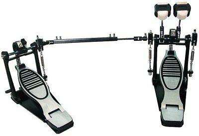 GP Percussion Pro Quality Double Drum Pedal DP778TN Drummer Equipment