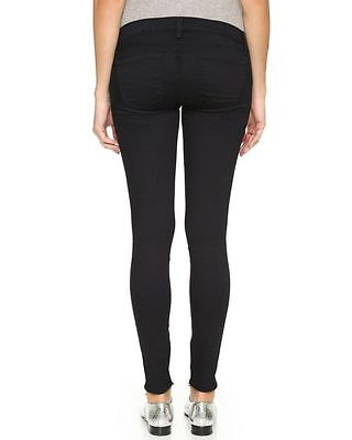 J Brand 27 Mama Maternity Jegging Jeans Pants Pitch Black Pea In The Pod Skinny