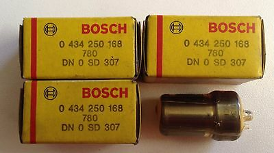 4 Injecteurs diesel BOSCH - DN0SD307 0434250168 - Iveco daily 35-10  Lancia Them