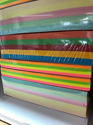 Coloured Paper A4, various available, perfect for crafts