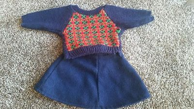 American Girl ~ Molly Meet Outfit Sweater & Skirt ~ Original PC Version 1986
