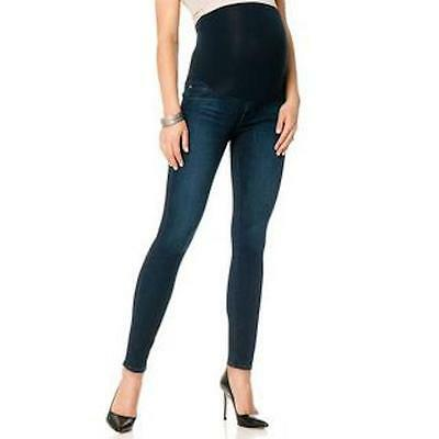 A Pea In The Pod Xs Extra Small Jean Legging Skinny Secret Fit Blue Denim Pants
