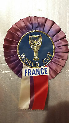 Vintage Football 1966 World Cup Rosette
