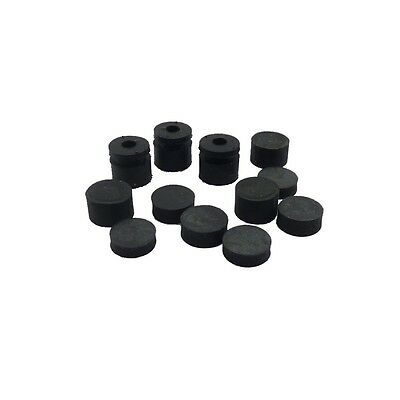 DUNLOP ECB124 - 12 pcs Grommets for Crybaby wah GENUINE PART Gommini
