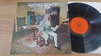 WALTER CARLOS Switched On Bach LP CBS 63501 UK 1969