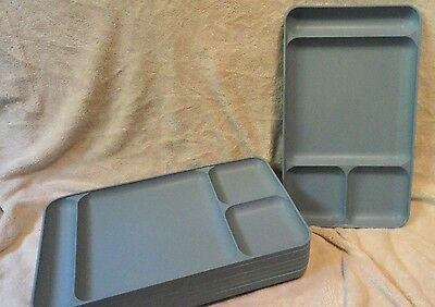 Tupperware Lunch Trays, Set of 9, Vintage Retro, Kids Love Them!