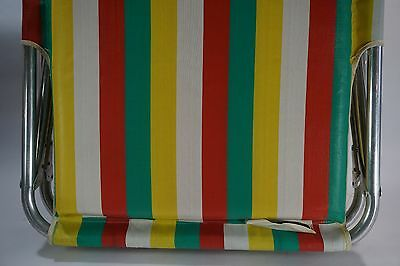 Sportcrest Vintage Folding Cot Camping Hiking Bed Travel Tent Striped 60's FUN