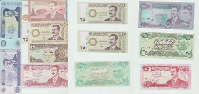 """(O&C) World ,Paper money Lot of 12 banknotes """"various conservation* [e966]"""