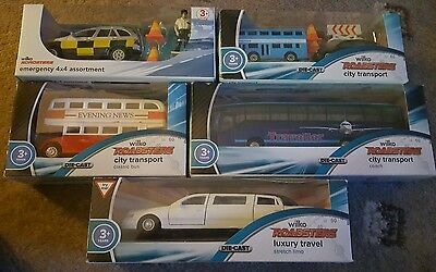 REDUCED Sale.bundle of toy cars  buses limo die cast all brand new