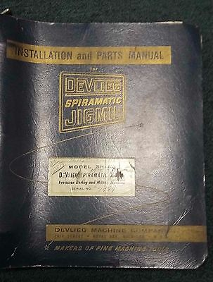 Devlieg Spiramatic Jigmil 3H-48 Installation & Parts Manual