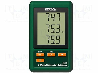 1 pc Logger: temperature; LCD 60x50mm; -50÷1300°C; Channels:3