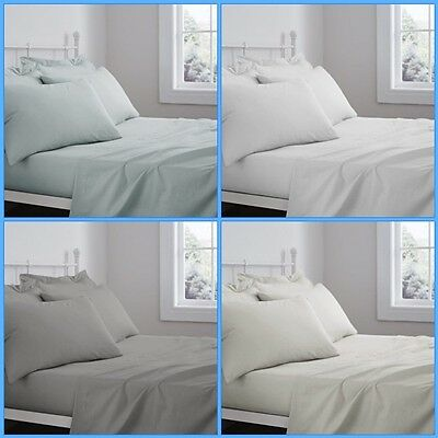 100 Percent Cotton Sheets Luxury Hotel Quality Flat or Fitted Sheets