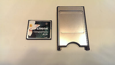 Fanuc Robotics  pcmcia adapter with 2gb compact flash