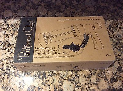 The Pampered Chef Cookie Press New In Box