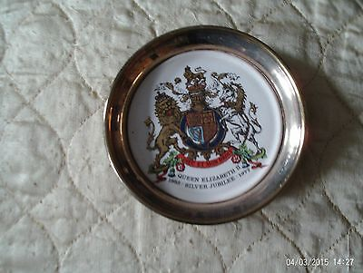 M&R Silver Plated Jubilee Plate