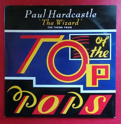 """Paul Hardcastle - The Wizard - 7"""" Vinyl Single In Glossy Picture Sleeve"""